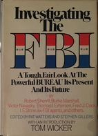 Investigating the FBI by Pat Watters