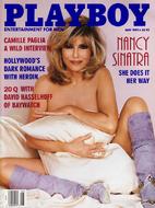 Playboy Magazine ~ May 1995 (Nancy Sinatra)…