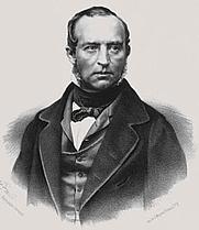 Author photo. An 1850s portrait