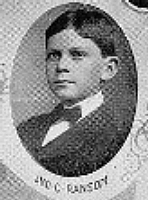 Author photo. Bowen School Yearbook: 1903 Senior Class