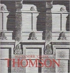 Alexander Greek Thomson : architect…