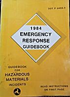 1984 Emergency Response Guidebook for…