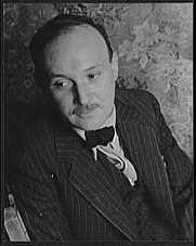 Author photo. Manuel Komroff, 1937. Photo by Carl Van Vechten. (Library of Congress Prints and Photographs Division)