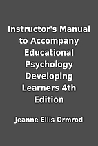 Instructor's Manual to Accompany Educational…