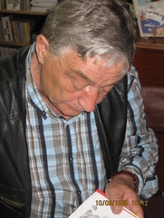 Author photo. Eduard Uspenskiy - the writer from the children by Anjelica