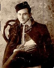 Author photo. Johannes Vares–Barbarus. 1908.