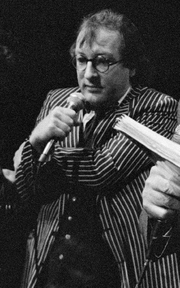 Author photo. Youp van 't Hek in 1988 [credit: Fotocollectie Nationaal Archief/Anefo/Rob Croes; grabbed from Wikipedia]