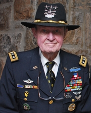 "Author photo. LTG(R) Hal Moore at the United States Military Academy at West Point on 10 May 2010 By Ahodges7 - Own work, CC BY-SA 3.0, <a href=""https://commons.wikimedia.org/w/index.php?curid=10298363"" rel=""nofollow"" target=""_top"">https://commons.wikimedia.org/w/index.php?curid=10298363</a>"