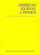 American Journal of Physics June 1972 by…