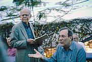 Author photo. Huber Matos, (izda) con Carlos Alberto Montaner 25 de Oct. 2009 by Aaron Escobar on Flickr