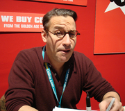 Author photo. Midtown Comics signing @ New York Comic-Con 2007, photo by Lampbane