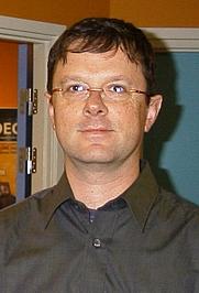Author photo. Rob Pike at Guadec 2001 in Copenhagen, Denmark.