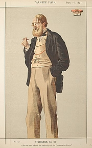 "Author photo. ""Coïdé"" Vanity Fair, 16 September 1871"