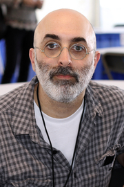 """Author photo. Author Eduardo Halfon at the 2018 Texas Book Festival in Austin, Texas, United States. By Larry D. Moore, CC BY-SA 4.0, <a href=""""https://commons.wikimedia.org/w/index.php?curid=74326625"""" rel=""""nofollow"""" target=""""_top"""">https://commons.wikimedia.org/w/index.php?curid=74326625</a>"""