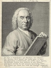 Author photo. Engraving by C. Pronk/J. Houbraken