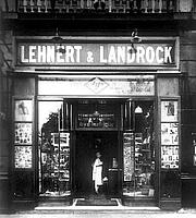 Author photo. Lehnert & Landrock Bookshop, Cairo