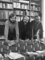 Author photo. Zenker (on left) with Gustav Ernst and Franz Schuh / Photo by Alfred Cermak / Photo © <a href=&quot;http://www.bildarchivaustria.at&quot;>ÖNB/Wien</a>
