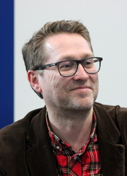 """Author photo. Jan Weiler, Leipzig Bookfair 2014 By Lesekreis - Own work, CC0, <a href=""""https://commons.wikimedia.org/w/index.php?curid=31648467"""" rel=""""nofollow"""" target=""""_top"""">https://commons.wikimedia.org/w/index.php?curid=31648467</a>"""