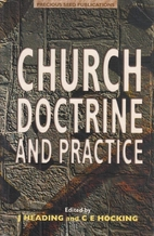 Church Doctrine and Practice by John And…