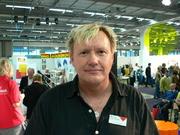 Author photo. Credit: Hannibal (Wikipedia user), Gothenburg Book Fair 2007