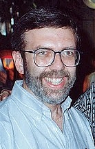 Author photo. Photo (cropped) by Alan Light 1990.