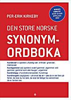 Den store norske synonymordboka by Per-Erik…