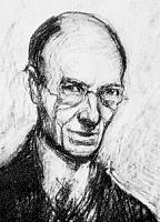 Author photo. Arthur Rackham (1867-1939). Self portrait.