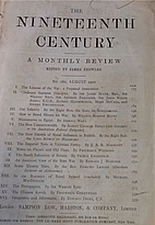 The Nineteenth Century, A Monthly Review by…