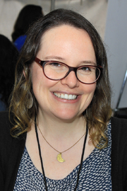 "Author photo. Cartoonist Raina Telgemeier at the 2016 Texas Book Festival. By Larry D. Moore, CC BY-SA 4.0, <a href=""https://commons.wikimedia.org/w/index.php?curid=53512414"" rel=""nofollow"" target=""_top"">https://commons.wikimedia.org/w/index.php?curid=53512414</a>"