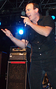 Author photo. Photo taken by Richard Acosta during Bad Religion's concert at the Starland Ballroom in New Jersey.