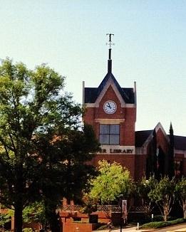 Jack Tarver Library - Mercer University in Macon, Georgia