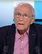 Author photo. Zeev Sternhell le 10 avril 2015 lors d'une intervention sur la Chane TV5 Monde