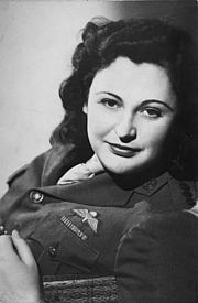 Author photo. Studio portrait of Nancy Wake c. 1945