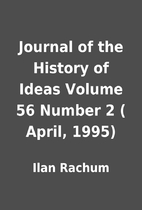 Journal of the History of Ideas Volume 56…