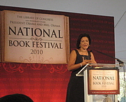 Author photo. National Book Festival, Washington, DC - 2010