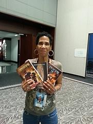 Author photo. Author Valjeanne Jeffers Alabama Phoenix Festival
