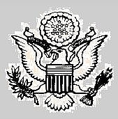 Author photo. Great Seal of the U.S. War Department