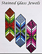 Stained glass jewels by Michelle McAnally