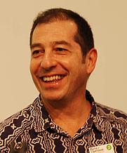 Author photo. Zapiro (Jonathan Shapiro) at the Göteborg Book Fair, 2010