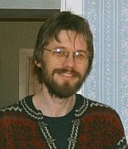Author photo. Olve Utne (Photo: Dena Utne, 2001)