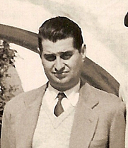 Author photo. Nestor Lujan in 1940 Author unknown: The photo comes from the heirs of Manuel Brunet.
