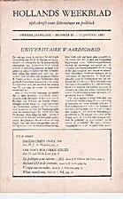 Hollands maandblad/weekblad jaargang 2…