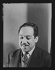 Author photo. Langston Hughes (1902-1967)