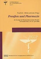 Preußen und die Pharmazie die Vorträge der…