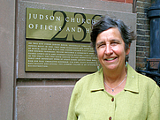 Author photo. Rev. Schaper is a senior minister at Judson Memorial Church in the West Village in New York City.