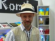 Author photo. Fredrik Strömberg at Gothenburg Book Fair 2007