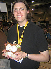 "Author photo. San Diego Comic-Con 2006<br>Copyright © 2006 <a href=""http://ronhogan.tumblr.com"">Ron Hogan</a>"