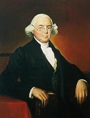 Author photo. The official portrait of Supreme Court Justice James Wilson.