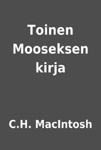 Toinen Mooseksen kirja by C.H. MacIntosh