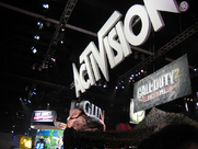 """Author photo. Activision booth at E3 2005, photo by Phu """"Son"""" Nguyen"""